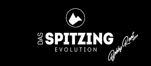 Logo Spitzing Evolution Bobby Root Edition signature